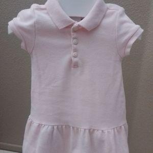 Oshkosh Baby Girl Pink Polo Dress